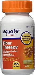 Equate - Fiber Therapy - Compare to Metamucil - For Regularity Fiber Supplement, 100 Capsules