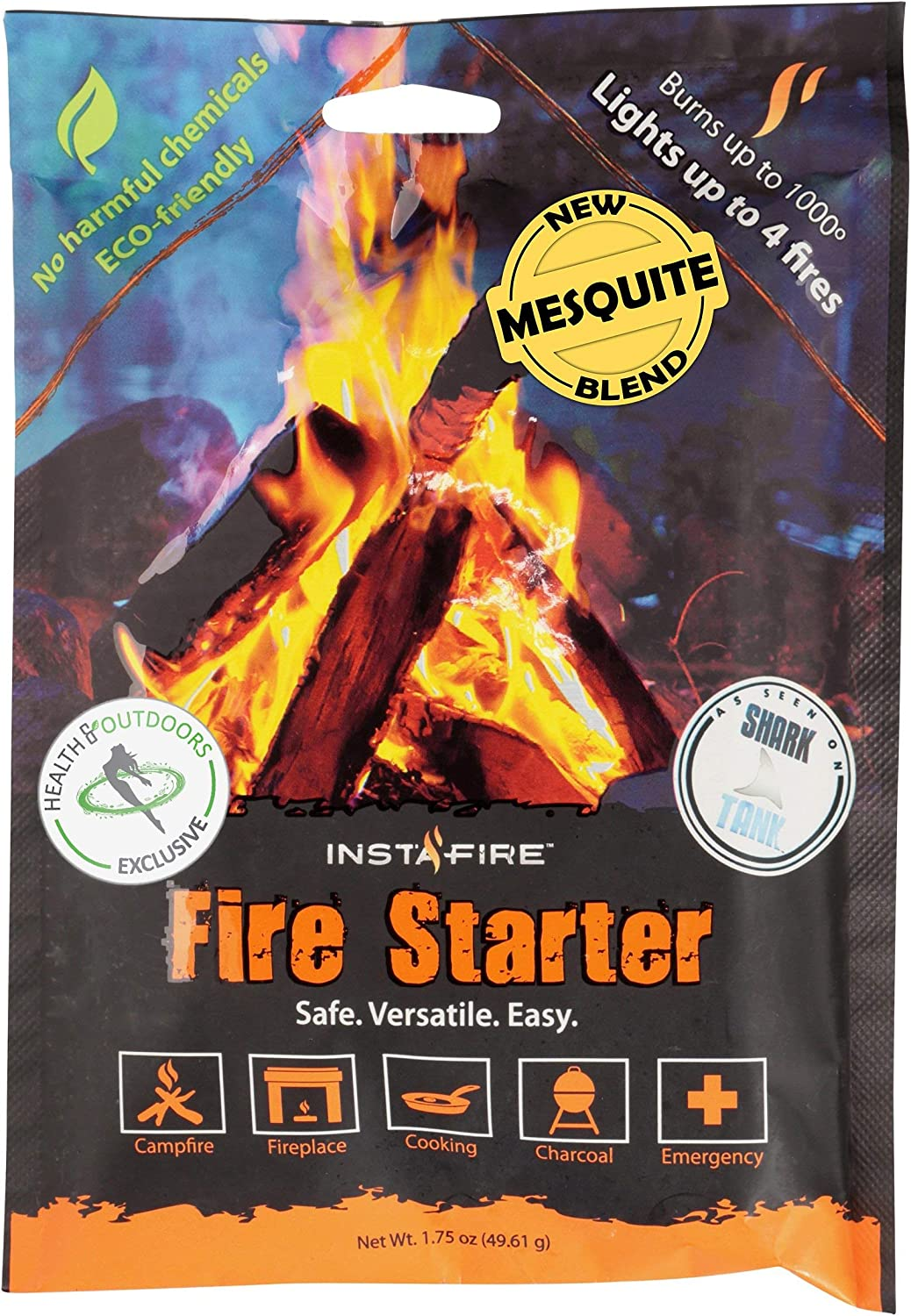 Instafire overseas New Blends Granulated Fire Outlet SALE Eco-F Starter All Natural