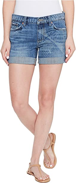 Lucky Brand - The Roll Up with Shibori Print Shorts in Little Elm