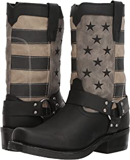 "Durango Flag Harness 11"" Boot"
