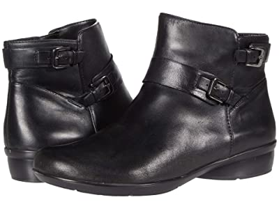 Naturalizer Cole (Black Leather) Women