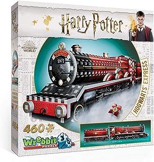Wrebbit Puzzles-3D Hogwarts Express Harry Potter 3D Puzzle, W3D-1009, Multicolore