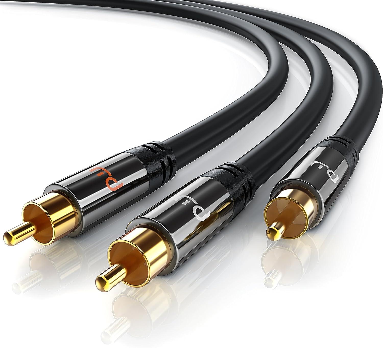 1 5m Cinch Audio Kabel Koaxialkabel Subwooferkabel Elektronik