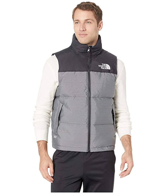The North Face  1996 Retro Novelty Nuptse Vest (TNF Black Multi Dobby) Mens Vest