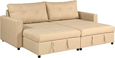 Amazon.com: Best Choice Products Tufted Faux Leather 3-Seat ...
