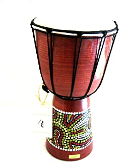 """Djembe Drum Bongo Congo African Drum -MED SIZE- 12"""", JIVE BRAND- Professional Sound"""