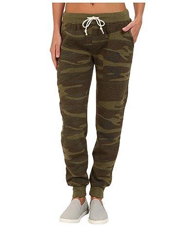 Alternative Eco Fleece Jogger Pant (Camo) Women