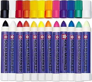 Solid Paint Marker 12 Colour Set