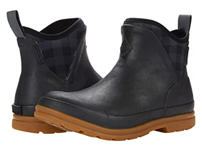 The Original Muck Boot Company Muck Originals Ankle (Black/Plaid/Gum) Women