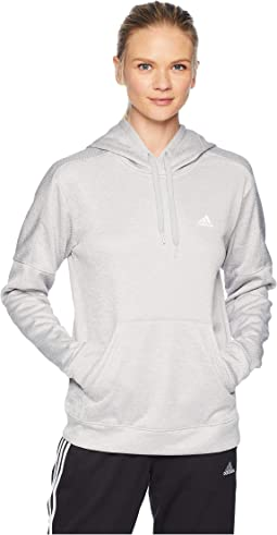 9003b273c292 Adidas team issues fleece pullover hoodie applique scarlet dark grey ...
