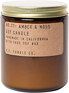 P.F. Candle Co. Amber & Moss Standard Soy Candle (7.2 oz)