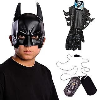 DC Comics Child's Batman Mask and Accessory Bundle