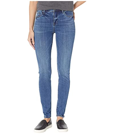 KUT from the Kloth Mia High-Rise Skinny Jeans in Untouchable w/ Medium Base Wash (Untouchable w/ Medium Base Wash) Women
