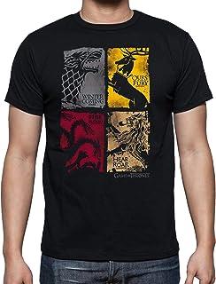 The Fan Tee Camiseta de Hombre Juego de Tronos Tyrion Snow Dragon Daenerys Stark 064