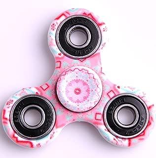 Kirinstores(TM)3D Fidget Spinnerハンドトライアングルフィンガースピナーカラフルなおもちゃ マンダラ (マンダラピンク(Mandalas Pink))