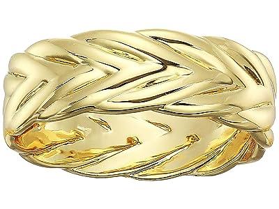 SHASHI French Braid Ring (Gold) Ring