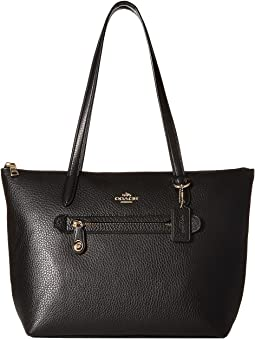9019c4a5dd8b Coach refined pebbled unlined mercer tote | Shipped Free at Zappos