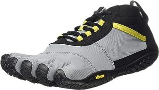 Vibram Five Fingers Men's V-Trek Trail Hiking Shoe (47 EU/12-12.5 US, Balck/Grey/Citronelle)