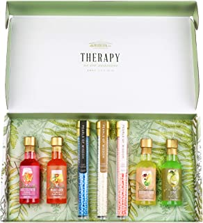 Modern Gourmet Foods, Gin Therapy Cocktail Kit, Includes 4 Cocktail Mixers and Edible Pearl Garnish (Contains NO Alcohol)