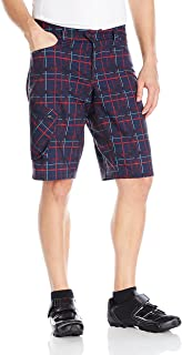 PEARL IZUMI Men's Canyon Plaid Shorts