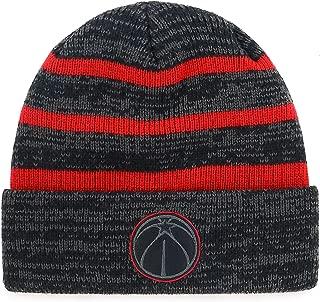OTS NBA Men's Black Line Cuff Knit Cap