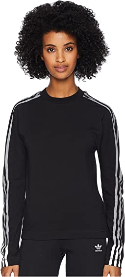 3 Stripes Long Sleeve Tee
