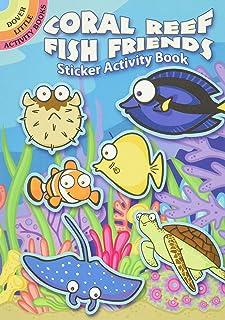 Coral Reef Fish Friends Sticker Activity Book