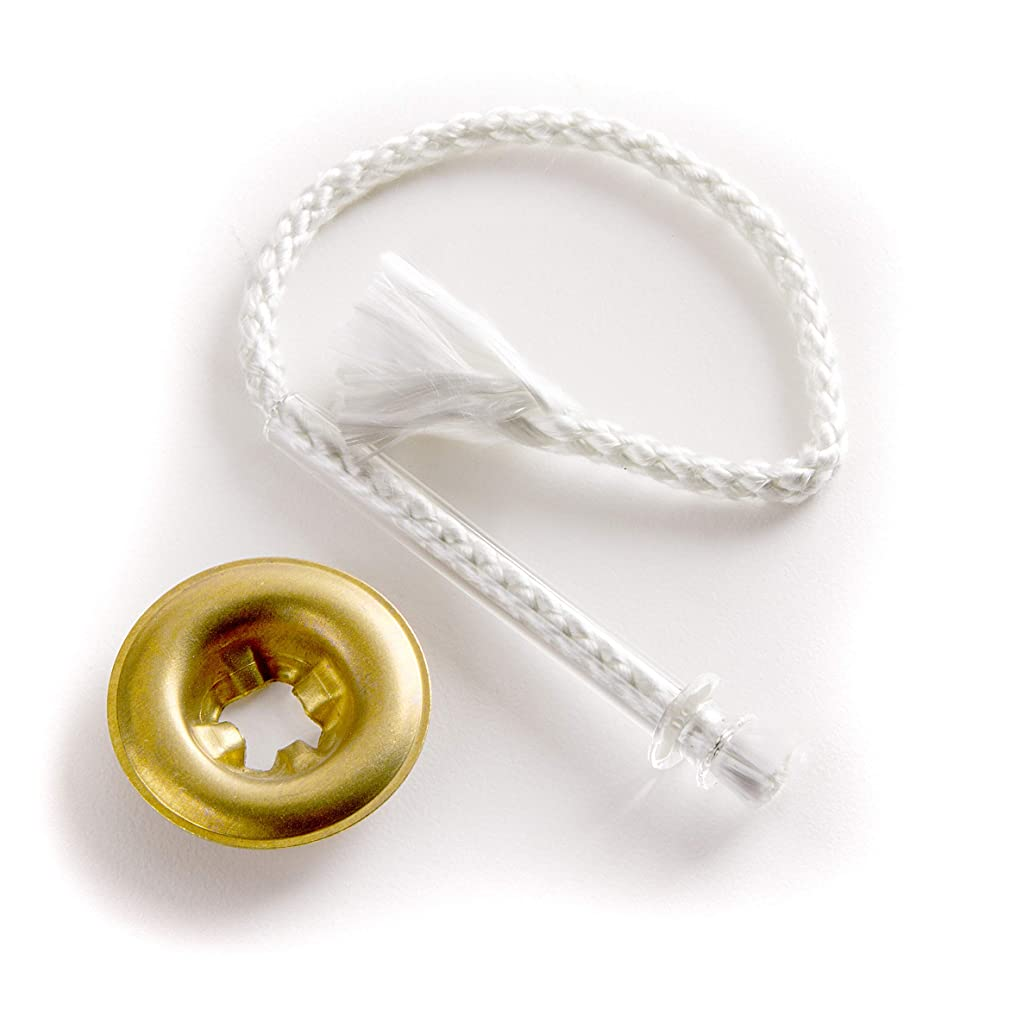 Pepperell Braiding LCW-5 Glass Tube Wick Adapter Set