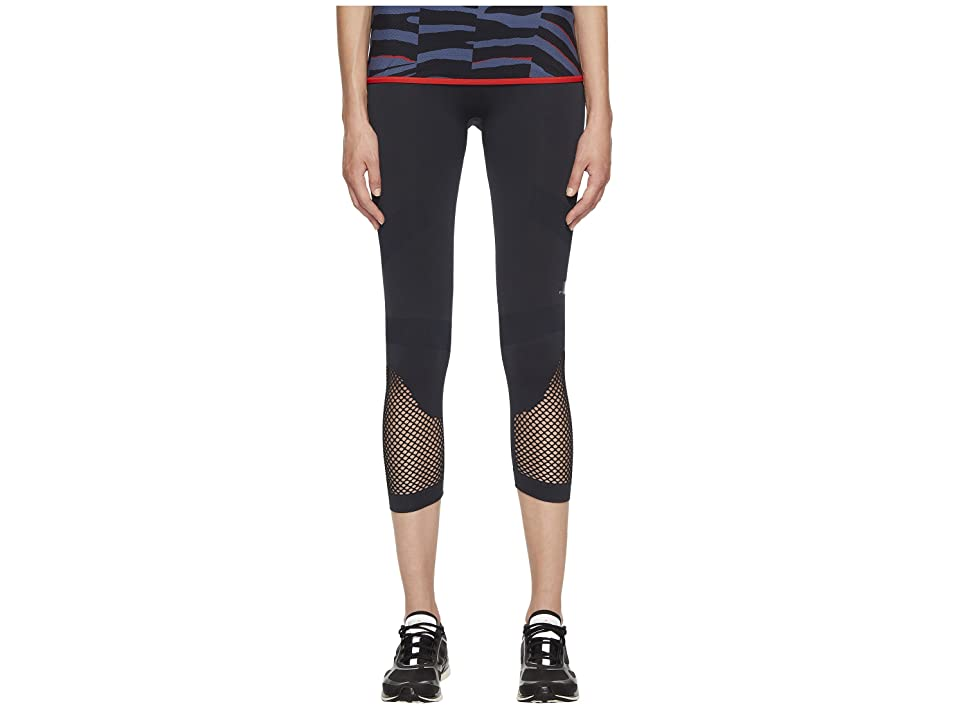 adidas by Stella McCartney Training Seamless 3/4 Tights CF4033 (Night Grey) Women
