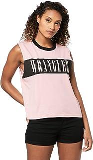 Wrangler Women's Bolt Muscle, Pink Black