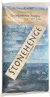 Stonehenge Gradations Mystic Midnight Stone Strips 40 2.5-inch Strips Jelly Roll Northcott