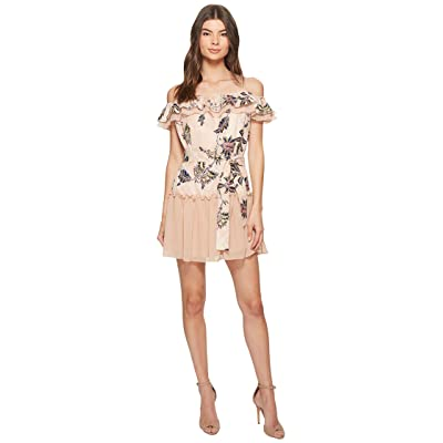 The Jetset Diaries Azalea Mini Dress (Pink Floral) Women