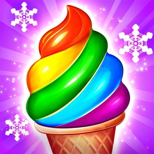 Ice Cream Paradise: Paradiso dei gelati - Avventura match 3 gratis puzzle