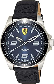 Ferrari Men's Analog Quartz Watch with Nylon Strap 830486