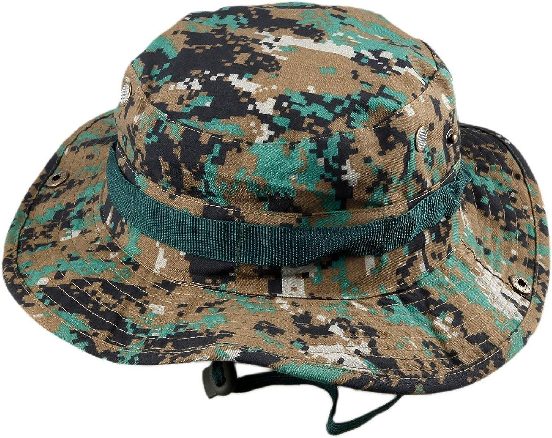 88990b24b45a6c Squaregarden Outdoor Boonie Hat Fishing Fishing Fishing Hunting Bucket Cap  ab2c49