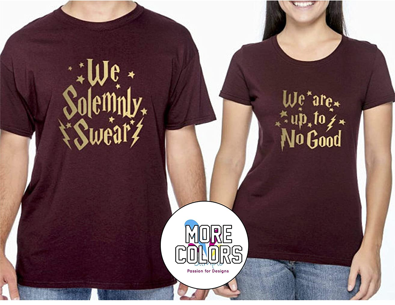 Harry Potter Couple Matching Shirt T-Shirt Funny Tee Gift for Him Her Movie T Shirts