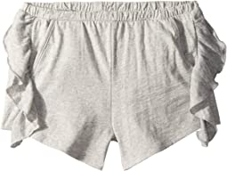 Super Soft Ruffle Side Shorts (Big Kids)
