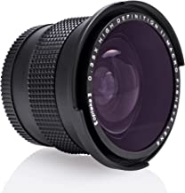 NIKON ニコンデジタル一眼レフカメラ用OptekaHD²0.35x広角パノラママクロ魚眼レンズ(52ミリメートル/ 58ミリメートル/ 67ミリメートルレンズを適合)for Nikon D3000, D3100, D3200, D5000,...