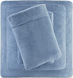 True North by Sleep Philosophy Soloft Plush, Wrinkle Resistant, Warm, Soft Fleece Sheets with 14