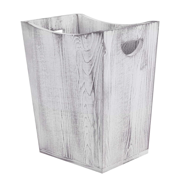 LIANTRAL Wood Trash Can famous Rustic Style Wastebasket Farmhouse Ranking TOP19 Bin
