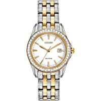 Citizen Watches Women's EW1908-59A Eco-Drive Silhouette Crystal Watch