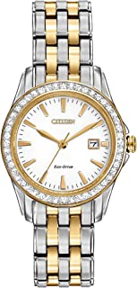 Watches Women's EW1908-59A Eco-Drive Silhouette Crystal