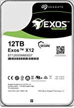 Seagate Exos 12TB Internal Hard Drive Enterprise HDD – 3.5 Inch 6Gb/s 7200 RPM 128MB Cache for Enterprise, Data Center – Frustration Free Packaging (ST12000NM0007)
