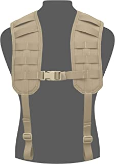 Warrior Assault Systems Load Bearing MOLLE Harness with Rear Panel