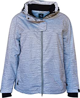 Pulse Womens Extended Plus Size Vixen Insulated Snow Jacket Coat