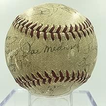 1939 St. Louis Cardinals Team Signed Autographed NL Baseball Joe Medwick PSA DNA
