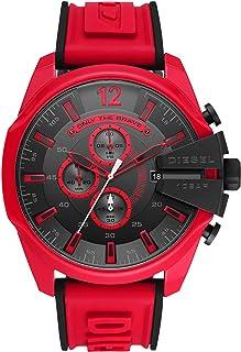 Mega Chief Chronograph Leather Watch