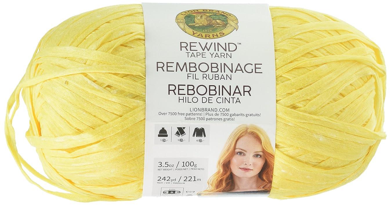 Lion Brand Yarn 523-157 Rewind Yarn, Make Lemonade e3613103090