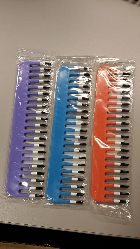 切断するスタンドイデオロギーMebco Volume II Streakerショートヘアーコーム、長さ156 ml