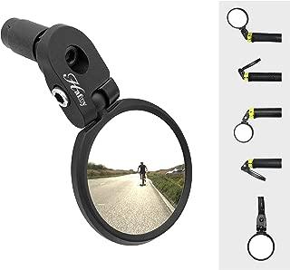 Hafny Bar End Bike Mirror, Stainless Steel Lens, Safe...